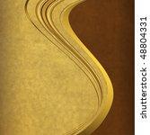 old paper with elegance golden... | Shutterstock . vector #48804331