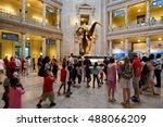 washington d.c. usa   august 11 ... | Shutterstock . vector #488066209