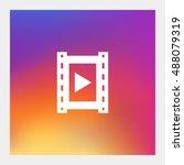 video icon vector  clip art....