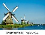 Beautiful Windmill Landscape A...