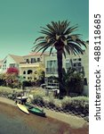 Venice Canals Walkway With...