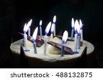 Chocolate Cake With Thirteen...
