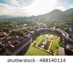 aerial shot of most beautiful... | Shutterstock . vector #488140114