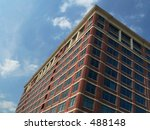 tall building  angled... | Shutterstock . vector #488148