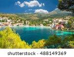 assos on the island of... | Shutterstock . vector #488149369