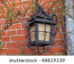 beautiful decorative old street