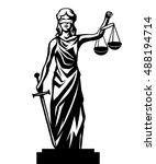 Femida   Lady Justice   Graphic ...