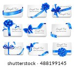 set of beautiful cards with...