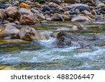 Majestic Mountain River In...