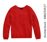 Woolen Sweater Isolated On...