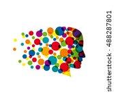 vector sign innovative... | Shutterstock .eps vector #488287801