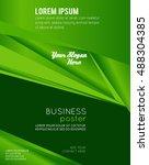 brochure design content... | Shutterstock .eps vector #488304385