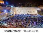 jerusalem  israel   september... | Shutterstock . vector #488313841