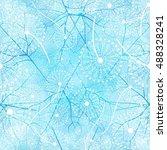 vector seamless floral pattern...   Shutterstock .eps vector #488328241