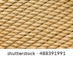 diagonal strands of a new thick ... | Shutterstock . vector #488391991