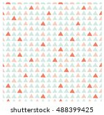 vector seamless hand drawn... | Shutterstock .eps vector #488399425