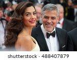 george clooney  amal clooney ... | Shutterstock . vector #488407879