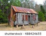 An Abandoned Run Down Farmhous...