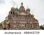 church of the savior on blood   ...   Shutterstock . vector #488443729