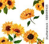 A Seamless Pattern With Hand...