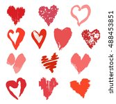 vector collection of elegant...   Shutterstock .eps vector #488453851