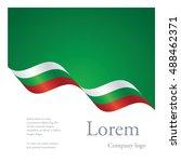 new brochure abstract design... | Shutterstock .eps vector #488462371