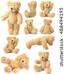teddy bear collection   Shutterstock . vector #488494195