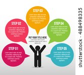 success business man infographic | Shutterstock .eps vector #488498335