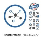 structure icon with bonus... | Shutterstock . vector #488517877