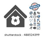police office pictograph with... | Shutterstock . vector #488524399