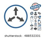 expand arrows pictograph with... | Shutterstock . vector #488532331
