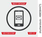 smartphone message icon