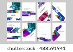 vector design set for business... | Shutterstock .eps vector #488591941