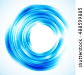 geometric frame  vector... | Shutterstock .eps vector #488599885