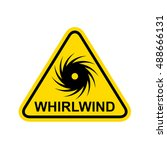 whirlwind  sign. vector | Shutterstock .eps vector #488666131