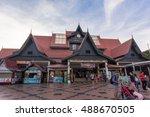 malacca  malaysia   19 may 2016 ...   Shutterstock . vector #488670505