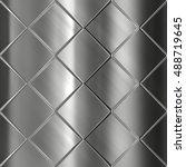 metal texture background  | Shutterstock . vector #488719645
