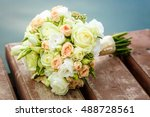 bouquet of flowers on the tree | Shutterstock . vector #488728561