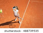 Young Female Tennis Player...