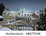 Prague   Hradcany Castle And...