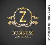 elegant z logo | Shutterstock .eps vector #488761291