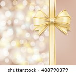 bokeh abstract background and... | Shutterstock .eps vector #488790379
