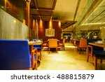 restaurant interior  part of a... | Shutterstock . vector #488815879