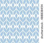 seamless pattern. floral... | Shutterstock . vector #488838454