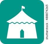circus tent  | Shutterstock .eps vector #488874265