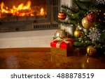 beautiful christmas background... | Shutterstock . vector #488878519