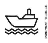shipping | Shutterstock .eps vector #488883331