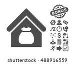 harvest warehouse pictograph... | Shutterstock .eps vector #488916559