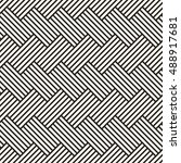 geometric seamless pattern.... | Shutterstock .eps vector #488917681
