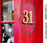 Small photo of Postal or address number for residential or business identification